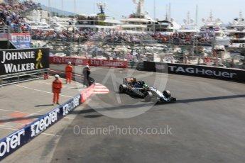 World © Octane Photographic Ltd. Sahara Force India VJM09 - Nico Hulkenberg. Saturday 28th May 2016, F1 Monaco GP Practice 3, Monaco, Monte Carlo. Digital Ref : 1568LB5D8155