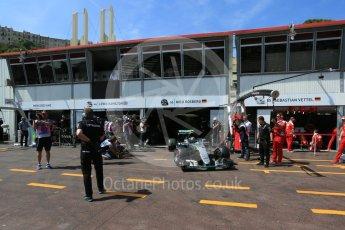 World © Octane Photographic Ltd. Mercedes AMG Petronas W07 Hybrid – Nico Rosberg. Saturday 28th May 2016, F1 Monaco GP Practice 3, Monaco, Monte Carlo. Digital Ref : 1568LB5D8202