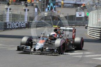 World © Octane Photographic Ltd. McLaren Honda MP4-31 – Jenson Button. Saturday 28th May 2016, F1 Monaco GP Qualifying, Monaco, Monte Carlo. Digital Ref :