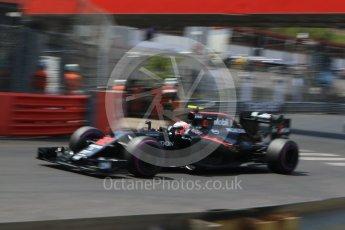 World © Octane Photographic Ltd. McLaren Honda MP4-31 – Jenson Button. Saturday 28th May 2016, F1 Monaco GP Qualifying, Monaco, Monte Carlo. Digital Ref : 1569CB7D2319