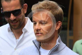 World © Octane Photographic Ltd. Mercedes AMG Petronas W07 Hybrid – Nico Rosberg. Wednesday 25th May 2016, F1 Monaco GP Paddock, Monaco, Monte Carlo. Digital Ref :1559CB7D0191