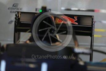 World © Octane Photographic Ltd. Scuderia Toro Rosso STR11 – rear wing. Wednesday 25th May 2016, F1 Monaco GP Paddock, Monaco, Monte Carlo. Digital Ref :1559LB1D4330