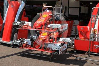 World © Octane Photographic Ltd. Scuderia Ferrari SF16-H noses and front wings. Wednesday 25th May 2016, F1 Monaco GP Paddock, Monaco, Monte Carlo. Digital Ref :1559LB1L6447