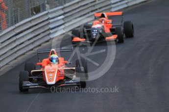 World © Octane Photographic Ltd. Friday 27th May 2015. Formula Renault 2.0 Practice, AVF by Adrian Valles – Harrison Scott and Tech 1 Racing – Sacha Fenestraz – Monaco, Monte-Carlo. Digital Ref :1565CB1D7554