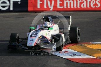 World © Octane Photographic Ltd. Friday 27th May 2015. Formula Renault 2.0 Practice, R-ace GP – Julien Falchero – Monaco, Monte-Carlo. Digital Ref :1565CB1D7635