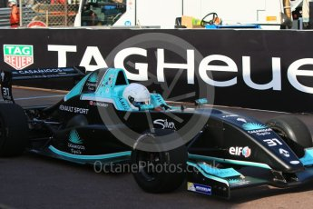 World © Octane Photographic Ltd. Friday 27th May 2015. Formula Renault 2.0 Practice, Cram Motorsport – Henrique Chaves – Monaco, Monte-Carlo. Digital Ref :1565CB7D1169