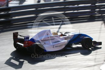 World © Octane Photographic Ltd. Friday 27th May 2015. Formula Renault 2.0 Practice, Josef Kaufmann Racing – Robert Shwartzman – Monaco, Monte-Carlo. Digital Ref :1565CB7D1188