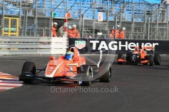 World © Octane Photographic Ltd. Friday 27th May 2015. Formula Renault 2.0 Practice, AVF by Adrian Valles – Harrison Scott– Monaco, Monte-Carlo. Digital Ref :1565LB1D8061