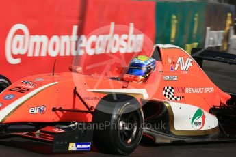 World © Octane Photographic Ltd. Friday 27th May 2015. Formula Renault 2.0 Practice, AVF by Adrian Valles – Harrison Scott– Monaco, Monte-Carlo. Digital Ref :1565LB1D8065