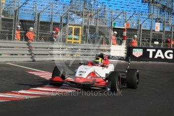 World © Octane Photographic Ltd. Friday 27th May 2015. Formula Renault 2.0 Practice, Cram Motorsport – Henrique Chaves – Monaco, Monte-Carlo. Digital Ref :1565LB1D8228