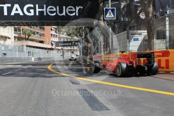 World © Octane Photographic Ltd. Racing Engineering - GP2/11 – Norman Nato leaves the pits. Friday 27th May 2016, GP2 Race 1, Monaco, Monte Carlo. Digital Ref :1566CB1D7728