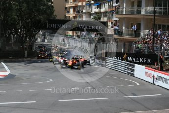 World © Octane Photographic Ltd. Racing Engineering - GP2/11 – Norman Nato. Friday 27th May 2016, GP2 Race 1 start, Monaco, Monte Carlo. Digital Ref :1566LB1D8628