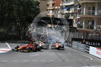World © Octane Photographic Ltd. Racing Engineering - GP2/11 – Norman Nato. Friday 27th May 2016, GP2 Race 1 start, Monaco, Monte Carlo. Digital Ref :1566LB1D8633