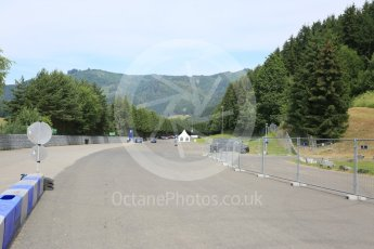 World © Octane Photographic Ltd. West loop of the old Osterreichring circuit - exit from the old Hella-light chicane. Thursday 30th June 2016, F1 Austrian GP, Red Bull Ring, Spielberg, Austria. Digital Ref : 1597CB5D2439