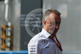 World © Octane Photographic Ltd. Mercedes AMG Petronas Executive Director (Technical) – Paddy Lowe. Friday 16th September 2016, F1 Singapore GP Paddock, Marina Bay Circuit, Singapore. Digital Ref :1715CB1D5561