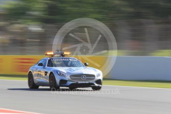 World © Octane Photographic Ltd. Safety car. Friday 13th May 2016, F1 Spanish GP - Practice 1, Circuit de Barcelona Catalunya, Spain. Digital Ref : 1536CB1D6738