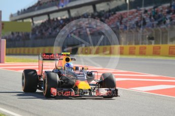 World © Octane Photographic Ltd. Red Bull Racing RB12 – Max Verstappen. Friday 13th May 2016, F1 Spanish GP - Practice 1, Circuit de Barcelona Catalunya, Spain. Digital Ref : 1536CB1D6963