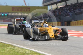 World © Octane Photographic Ltd. Renault Sport F1 Team RS16 - Kevin Magnussen. Friday 13th May 2016, F1 Spanish GP - Practice 1, Circuit de Barcelona Catalunya, Spain. Digital Ref : 1536CB1D7381