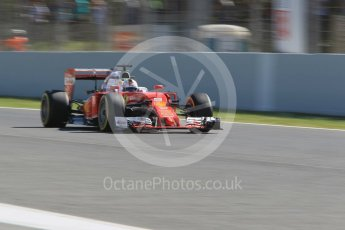 World © Octane Photographic Ltd. Scuderia Ferrari SF16-H – Sebastian Vettel. Friday 13th May 2016, F1 Spanish GP - Practice 1, Circuit de Barcelona Catalunya, Spain. Digital Ref : 1536CB1D7413