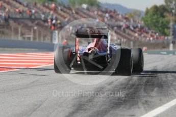 World © Octane Photographic Ltd. Scuderia Toro Rosso STR11 – Carlos Sainz. Friday 13th May 2016, F1 Spanish GP - Practice 1, Circuit de Barcelona Catalunya, Spain. Digital Ref : 1536CB1D7522