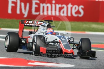 World © Octane Photographic Ltd. Haas F1 Team VF-16 – Romain Grosjean. Friday 13th May 2016, F1 Spanish GP - Practice 1, Circuit de Barcelona Catalunya, Spain. Digital Ref : 1536LB1D3827