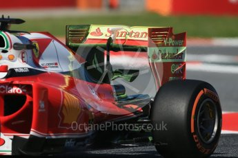 World © Octane Photographic Ltd. Scuderia Ferrari SF16-H – Sebastian Vettel. Friday 13th May 2016, F1 Spanish GP - Practice 1, Circuit de Barcelona Catalunya, Spain. Digital Ref : 1536LB1D3954
