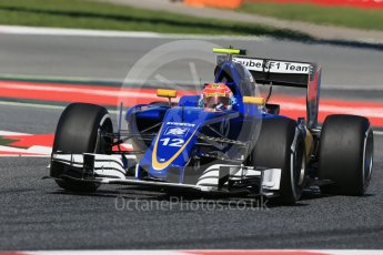 World © Octane Photographic Ltd. Sauber F1 Team C35 – Felipe Nasr. Friday 13th May 2016, F1 Spanish GP - Practice 1, Circuit de Barcelona Catalunya, Spain. Digital Ref : 1536LB1D4415