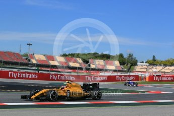 World © Octane Photographic Ltd. Renault Sport F1 Team RS16 – Esteban Ocon. Friday 13th May 2016, F1 Spanish GP - Practice 1, Circuit de Barcelona Catalunya, Spain. Digital Ref : 1536LB5D3133