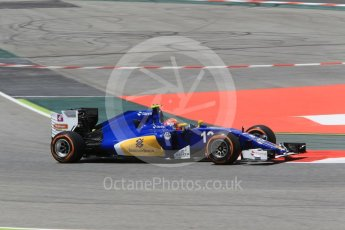 World © Octane Photographic Ltd. Sauber F1 Team C35 – Felipe Nasr. Friday 13th May 2016, F1 Spanish GP - Practice 2, Circuit de Barcelona Catalunya, Spain. Digital Ref : 1539CB1D8198