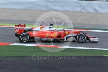 World © Octane Photographic Ltd. Scuderia Ferrari SF16-H – Sebastian Vettel. Friday 13th May 2016, F1 Spanish GP - Practice 2, Circuit de Barcelona Catalunya, Spain. Digital Ref : 1539CB1D8384