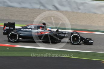 World © Octane Photographic Ltd. McLaren Honda MP4-31 – Fernando Alonso. Friday 13th May 2016, F1 Spanish GP Practice 2, Circuit de Barcelona Catalunya, Spain. Digital Ref : 1539CB1D8408