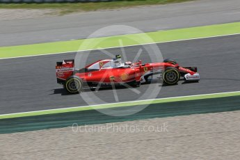 World © Octane Photographic Ltd. Scuderia Ferrari SF16-H – Kimi Raikkonen. Friday 13th May 2016, F1 Spanish GP Practice 2, Circuit de Barcelona Catalunya, Spain. Digital Ref : 1539LB5D3555