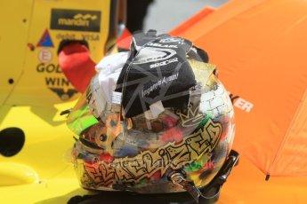 World © Octane Photographic Ltd. Pertamina Campos Racing - GP2/11 – Sean Gelael. Friday 13th May 2016, GP2 Practice, Circuit de Barcelona Catalunya, Spain. Digital Ref :1538CB1D7817