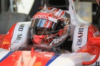 World © Octane Photographic Ltd. ART Grand Prix - GP2/11 – Nobuharu Matsushita. Friday 13th May 2016, GP2 Practice, Circuit de Barcelona Catalunya, Spain. Digital Ref :1538CB1D7862