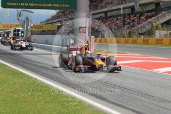 World © Octane Photographic Ltd. Prema Racing - GP2/11 – Pierre Gasly Friday 13th May 2016, GP2 Practice, Circuit de Barcelona Catalunya, Spain. Digital Ref :1538CB1D7960