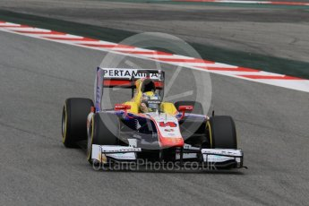 World © Octane Photographic Ltd. Trident - GP2/11 –Philo Paz Armand. Friday 13th May 2016, GP2 Qualifying, Circuit de Barcelona Catalunya, Spain. Digital Ref :1541CB7D6874