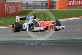 World © Octane Photographic Ltd. MP Motorsport - GP2/11 – Oliver Rowland. Friday 13th May 2016, GP2 Qualifying, Circuit de Barcelona Catalunya, Spain. Digital Ref :1541CB7D6931