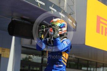 World © Octane Photographic Ltd. DAMS - GP2/11 – Alex Lynn (1st). Sunday 15th May 2016, GP2 Race 2, Circuit de Barcelona Catalunya, Spain. Digital Ref :1551CB1D1013