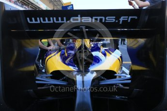World © Octane Photographic Ltd. DAMS - GP2/11 – Alex Lynn. Sunday 15th May 2016, GP2 Race 2, Circuit de Barcelona Catalunya, Spain. Digital Ref :1551CB7D8131