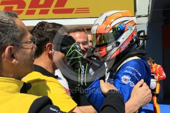 World © Octane Photographic Ltd. DAMS - GP2/11 – Alex Lynn (1st). Sunday 15th May 2016, GP2 Race 2, Circuit de Barcelona Catalunya, Spain. Digital Ref :1551CB7D8179