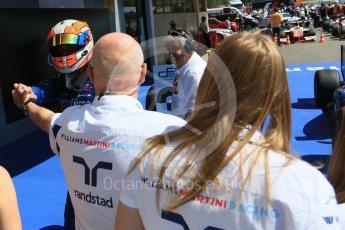 World © Octane Photographic Ltd. DAMS - GP2/11 – Alex Lynn (1st) and Williams. Sunday 15th May 2016, GP2 Race 2, Circuit de Barcelona Catalunya, Spain. Digital Ref :1551CB7D8270