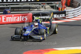 World © Octane Photographic Ltd. Carlin - GP2/11 – Marvin Kirchhofer. Thursday 26th May 2016, GP2 Practice, Monaco, Monte Carlo. Digital Ref : 1558CB7D0955