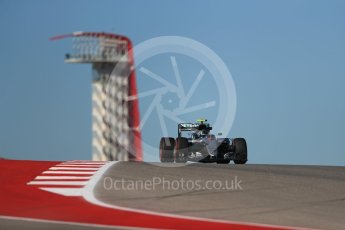 World © Octane Photographic Ltd. Mercedes AMG Petronas W07 Hybrid – Nico Rosberg. Friday 21st October 2016, F1 USA Grand Prix Practice 1, Austin, Texas – Circuit of the Americas (COTA). Digital Ref :1742LB1D0377
