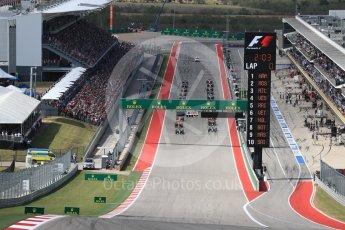 World © Octane Photographic Ltd. The grid form up. Sunday 23rd October 2016, F1 USA Grand Prix Race, Austin, Texas – Circuit of the Americas (COTA). Digital Ref :1749LB1D3541
