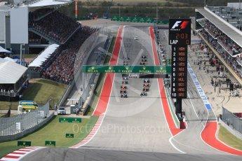 World © Octane Photographic Ltd. Race Start. Sunday 23rd October 2016, F1 USA Grand Prix Race, Austin, Texas – Circuit of the Americas (COTA). Digital Ref :1749LB1D3552