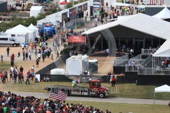World © Octane Photographic Ltd. The F1 Village. Sunday 23rd October 2016, F1 USA Grand Prix Race, Austin, Texas – Circuit of the Americas (COTA). Digital Ref :1749LB1D3820