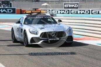 World © Octane Photographic Ltd. Formula 1 - Abu Dhabi Grand Prix - Friday Practice 1. Mercedes AMG GTs Black Safety Car. Yas Marina Circuit, Abu Dhabi. Friday 24th November 2017. Digital Ref:
