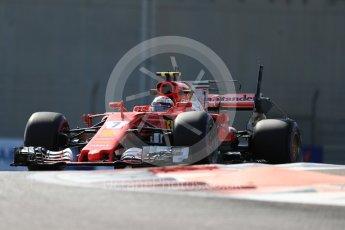 World © Octane Photographic Ltd. Formula 1 - Abu Dhabi Grand Prix - Friday Practice 1. Kimi Raikkonen - Scuderia Ferrari SF70H. Yas Marina Circuit, Abu Dhabi. Friday 24th November 2017. Digital Ref: