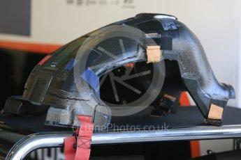 World © Octane Photographic Ltd. Formula 1 - Abu Dhabi Grand Prix - Friday Practice 1. Stoffel Vandoorne - McLaren Honda MCL32. Yas Marina Circuit, Abu Dhabi. Friday 24th November 2017. Digital Ref: