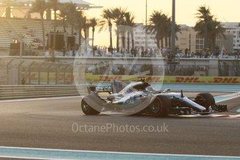 World © Octane Photographic Ltd. Formula 1 - Abu Dhabi Grand Prix - Friday - Practice 2. Valtteri Bottas - Mercedes AMG Petronas F1 W08 EQ Energy+. Yas Marina Circuit, Abu Dhabi. Friday 24th November 2017. Digital Ref: 2003CB1L6228